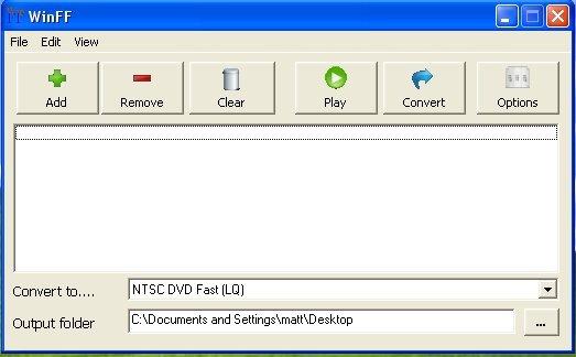 WinFF Portable – El mejor conversor de vídeo