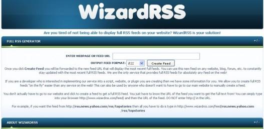 WizardRSS