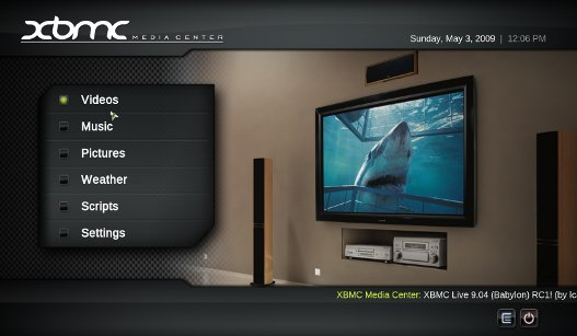 Instalar XBMC, Xbox media center en Ubuntu.
