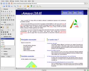 Amaya editor web