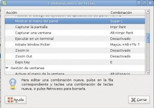 Abrir menu de Gnome y KDE con la tecla WIndows