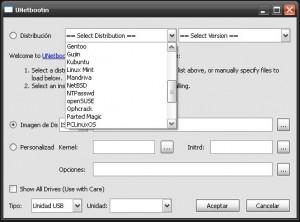 unetbootin instala linux facil sin cd