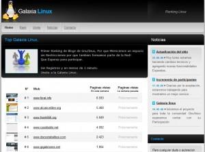 Galaxia linux, el ranking de las webs más libres.