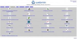 webmin servidores
