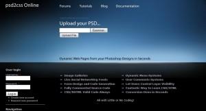 Convertir ficheros PSD a hojas de estilo CSS
